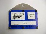 CCF Registration Label Holder, Straight
