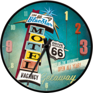 Nostalgic Art Quartz Wall Clock