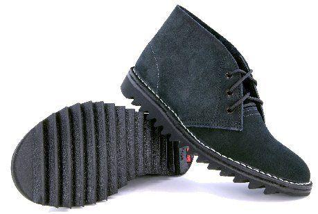 Rossi Ripple Desert Boots, Black